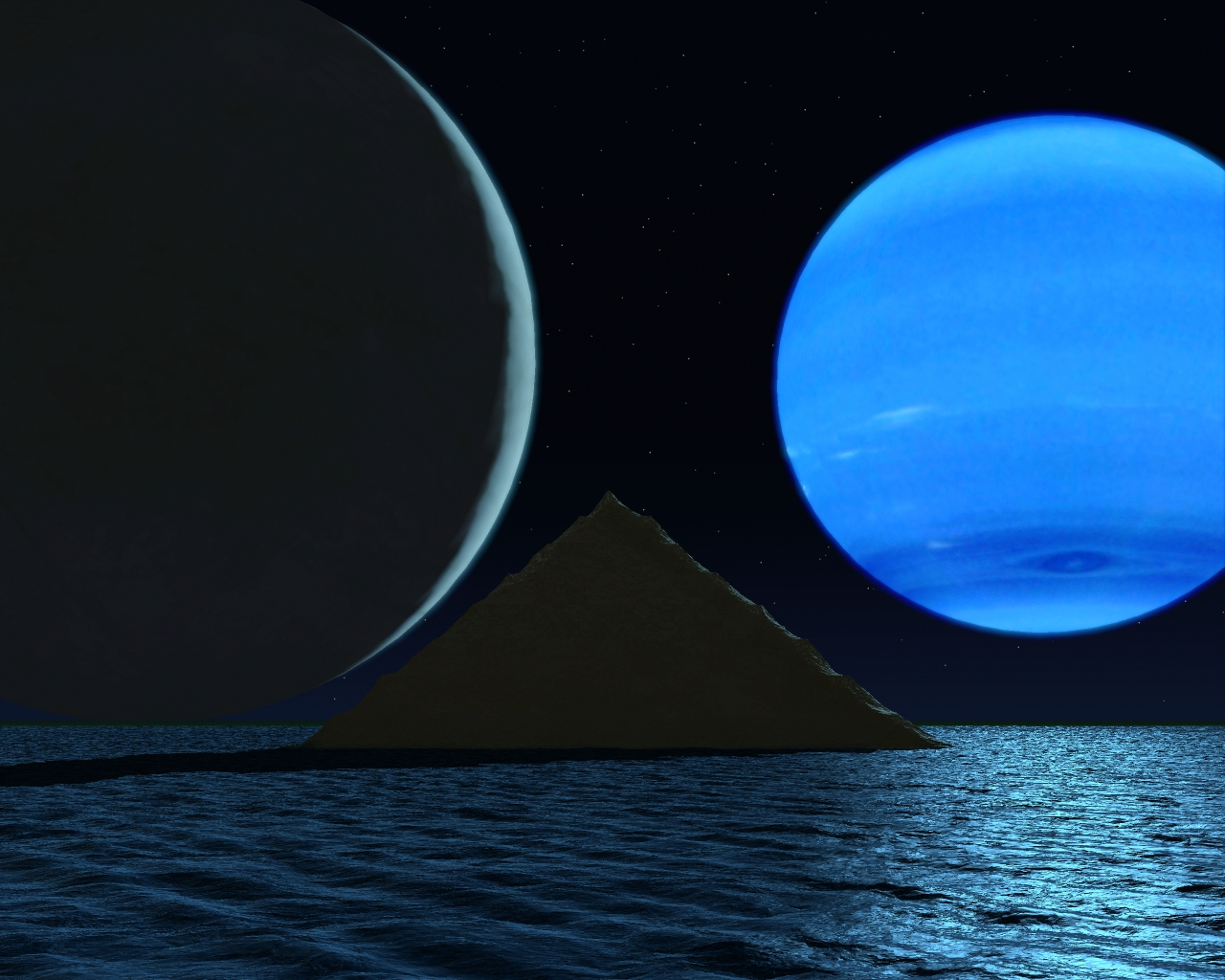 Planet Neptune's Surface Temp (page 2) - Pics about space